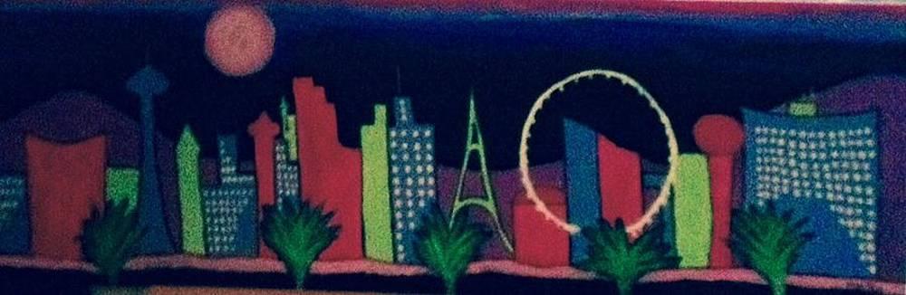 Loving Las Vegas II by Marlene MALKA Harris