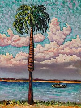 Low Country Palm by Eve  Wheeler