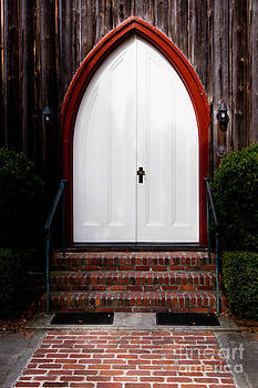Low Country Wooden Church Door by Thomas Marchessault