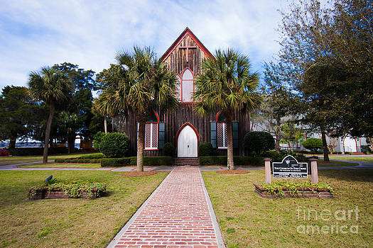 Low Country Wooden Church  by Thomas Marchessault