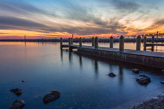 Low Tide Sunset by Brian Wright