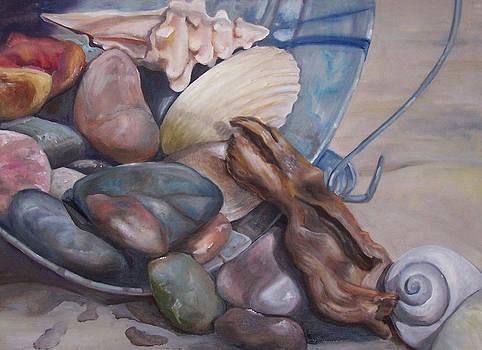 Low Tide Treasures by Maria Milazzo