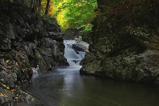 Lower Bash Bish Falls NY by Charlene Palmer
