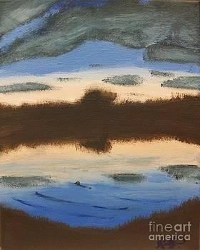 Loxahatchee Road Sunset by Krystal Jost