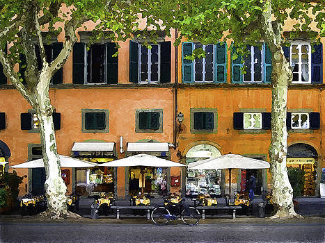 Lucca Cafe by Michael Fahey