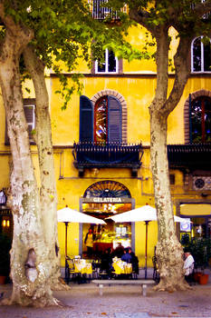 Lucca Cafe2 by Michael Fahey