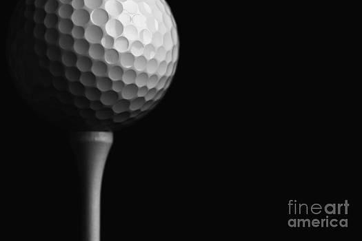 Lunar Golf by David Lee