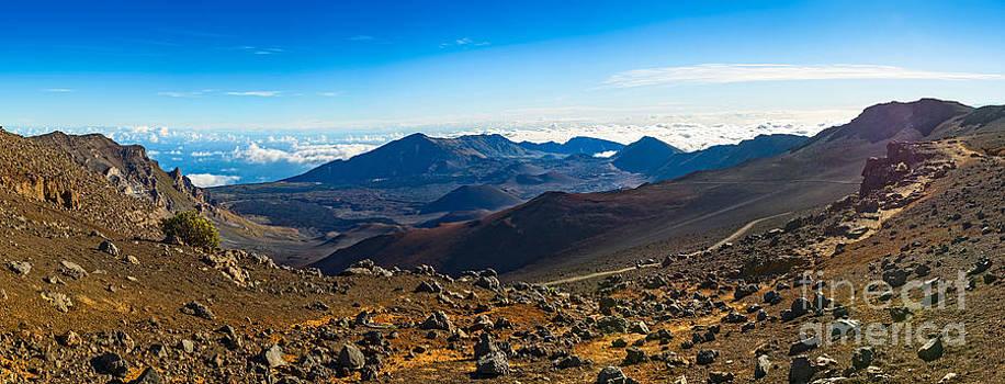 Jamie Pham - Lunar Landscape - the summit of Haleakala Volcano in Maui.