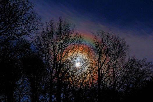 Lunar Rainbow by David M Jones
