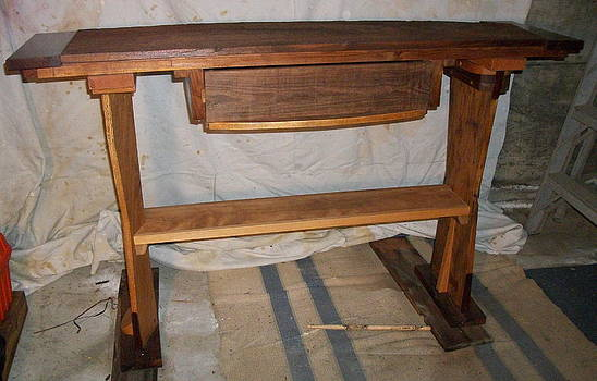 Luthier Table by D Angus MacIver