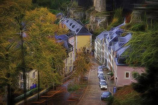 Luxembourg - Grund by Maciej Markiewicz