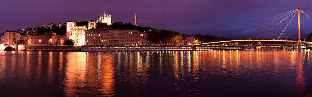 Lyon at Dusk by Phyllis Peterson