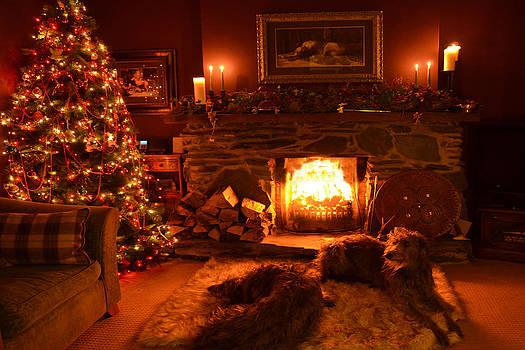Ma Wee Room At Christmas by Joak Kerr