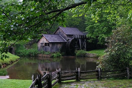 Mabry Mill by Stan Wikle