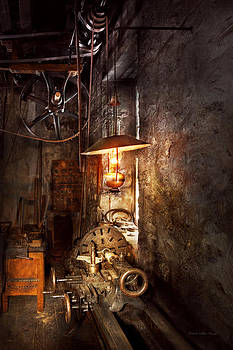 Mike Savad - Machinist - Lathe - The corner of an old workshop