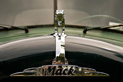 MACK Hood Ornament Closeup by James Bullard