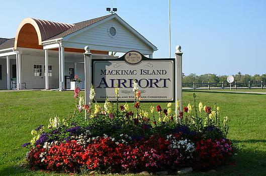 Mackinac Island Airport by Brett Geyer