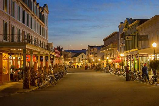 Mackinac Island - Evening by Mary Hershberger
