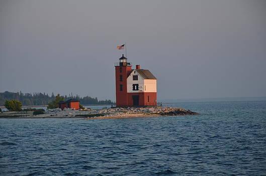 Mackinac Lighthouse by Brett Geyer