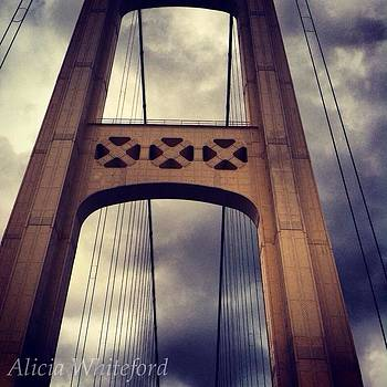 Mackinaw Bridge by Alicia Whiteford