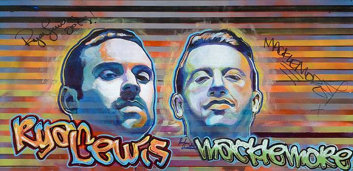 Macklemore and Ryan Lewis by Reuben Cheatem