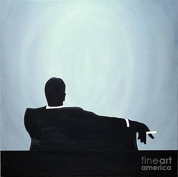 Mad Men in Silhouette #2 by John Lyes