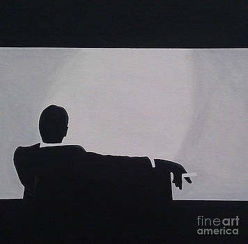 Mad Men in Silhouette by John Lyes