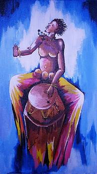 madly Drumming by Isaac Bineyson