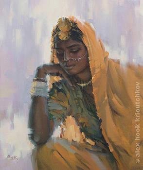 Madona of India IV by Alex Hook Krioutchkov