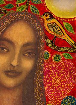 Madonna and Celestial Bird by Alice Mason