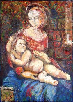Madonna And Child by Florin Birjoveanu