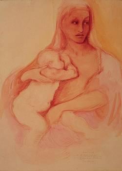 Madonna and Child by Herschel Pollard