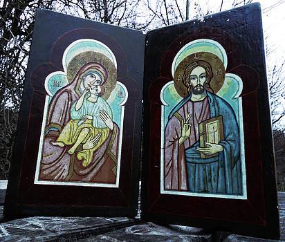 Madonna And Child - Jesus of Nazareth by Florin Birjoveanu