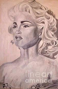 Madonna by Sharon Wilkens