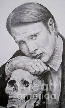 Mads Mikkelsen in the series Hannibal. by Danse DesSonges