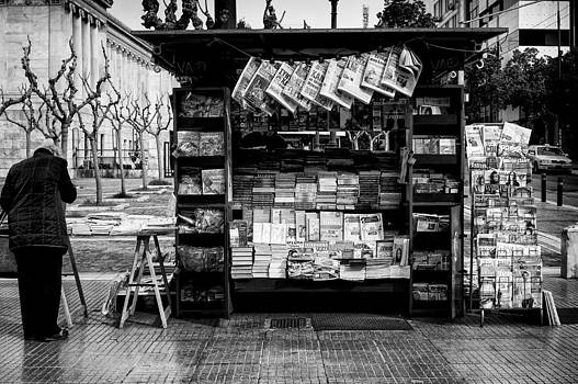 Magazines and newspapers by Spyros Papaspyropoulos