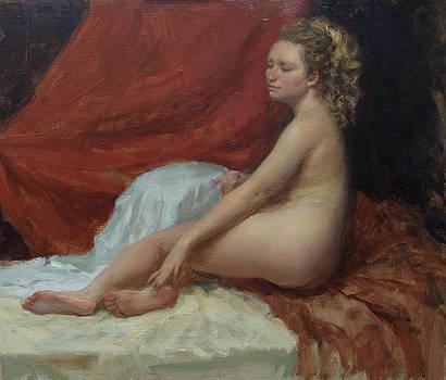 Magdalena by Korobkin Anatoly