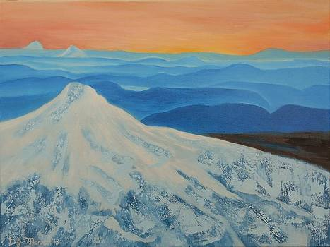 Majestic Mount Hood by Dorothy Merritt