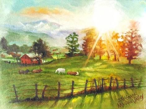 Maggie Valley Sunrise by Janet McGrath
