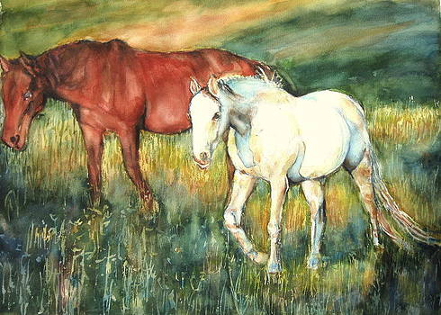 Magic Horse by June Conte  Pryor