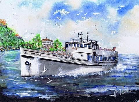 Magic Isle by Jerry Bates