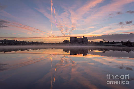 Magic moment at Carew Castle  by Corinne Johnston