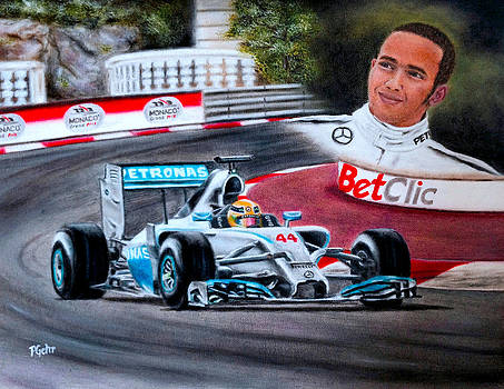 Magic of Monaco-Lewis Hamilton by Dr Pat Gehr