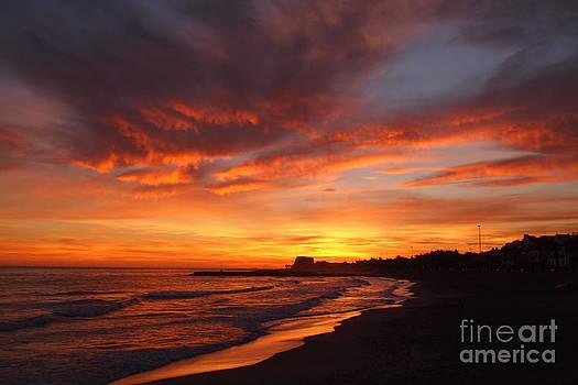 Magic Sunset by Victoria Herrera