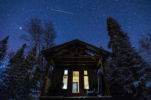 Magic Winter Night by Mircea Costina Photography