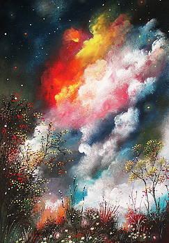 Magical night by Milenka Delic