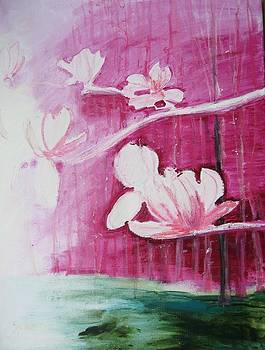 Magnolia Blossoms by Blanche Serban