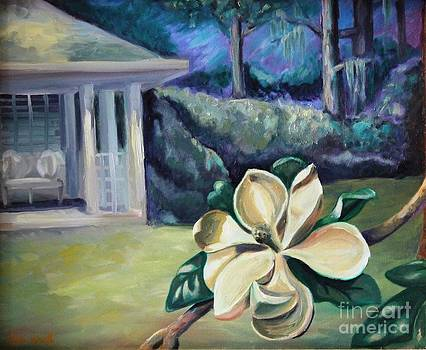 Magnolia in Moonlight by Ellen Howell