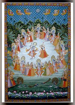 Maha Rass by Ravi  Sharma