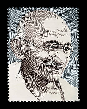Mahatma Gandhi by Manish Mansinh